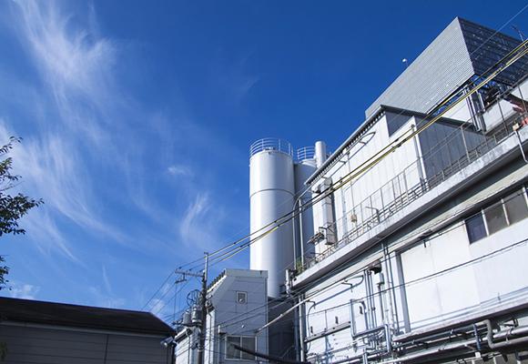お菓子工場排水処理設備脱臭対策