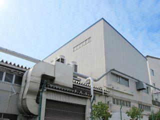ギョーザ製造工場内の臭気対策