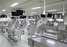 局所排気装置付き解剖実習台