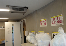 ゴミ置き場への設置事例(1)
