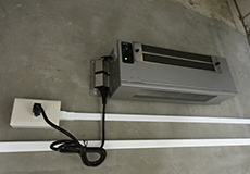 剣道防具庫への設置事例(2)