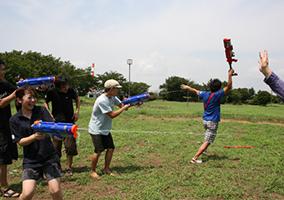 BMイベント 水鉄砲大会&BBQ