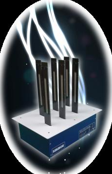 酸素クラスター除菌脱臭 ダクト設置型「ライテイ」