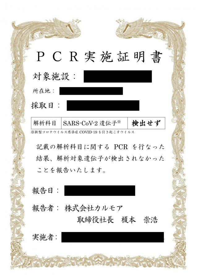 検査 pcr